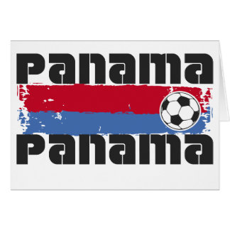 Panama Soccer Greeting Cards