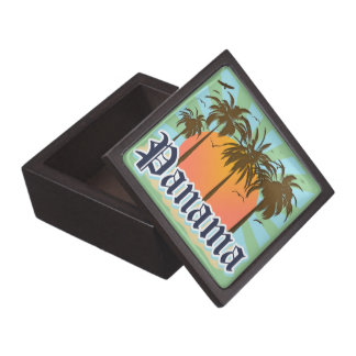 Panama Souvenir Premium Trinket Box