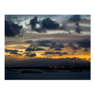 Panama Sunrise 1 Postcard