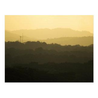 Panama Sunrise 3 Postcard
