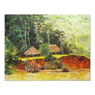 Panama Watercolor Card