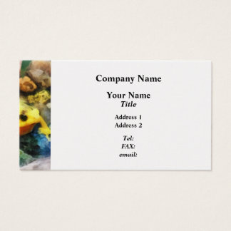 Panamanian Golden Frog Business Card