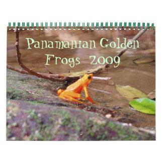 Panamanian Golden Frog Calendar