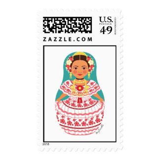 Panamanian Matryoshka Stamps