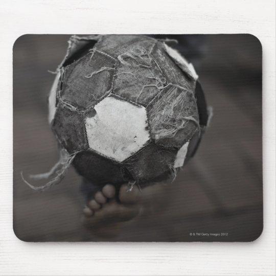Panamanian street soccer mouse pad