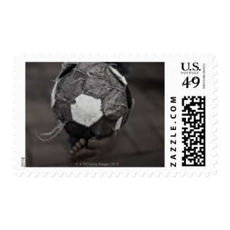 Panamanian street soccer postage stamps