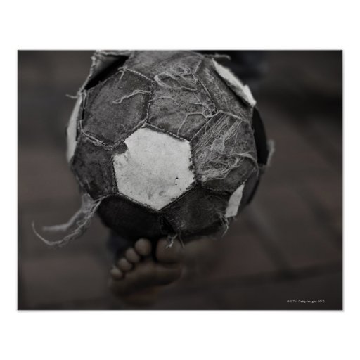 Panamanian street soccer poster