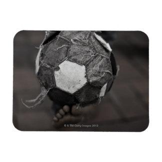Panamanian street soccer rectangular photo magnet