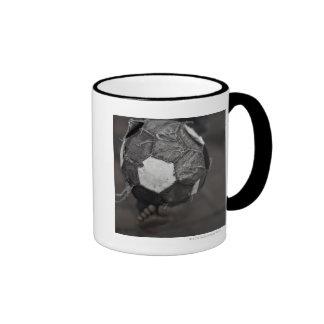 Panamanian street soccer ringer mug