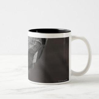 Panamanian street soccer Two-Tone coffee mug