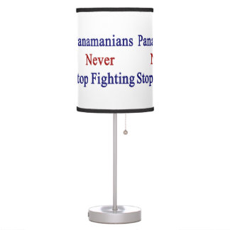 Panamanians Never Stop Fighting Desk Lamps