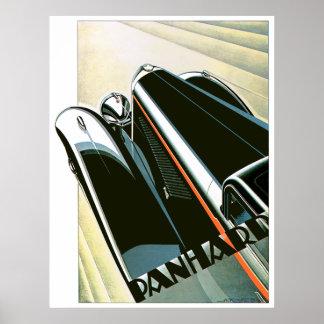 Panard Classic Car Poster
