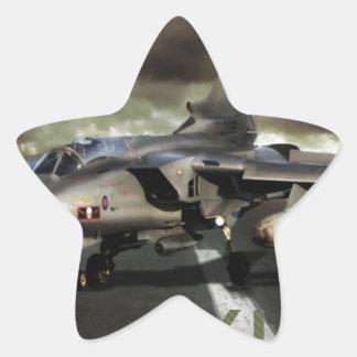 Panavia Tornado Jet Fighter Star Sticker