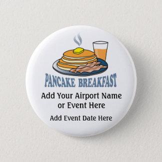 Pancake Bacon Juice Fundraiser Pinback Button