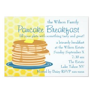 Pancake Breakfast Card