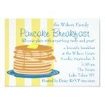 Pancake Breakfast Custom Invites