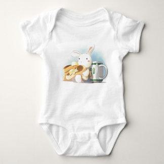 Pancake Bunny Baby Bodysuit