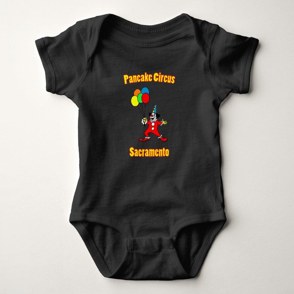 Pancake Circus Baby Bodysuit