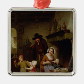 Pancake Day, 1845 Metal Ornament