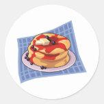 Pancake Day / Week Month Classic Round Sticker