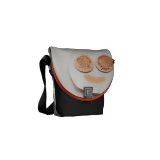 Pancake face courier bags