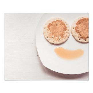 Pancake face photo print