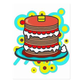 Pancake Postcard