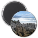Pancake Rocks, New Zealand Refrigerator Magnet