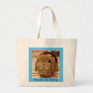 Pancake the Bunny grocery bag