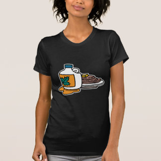 pancakes and maple syrup tee shirt