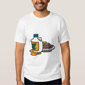 pancakes and maple syrup tshirts