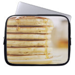 Pancakes and Melting Maple Syrup Computer Sleeve