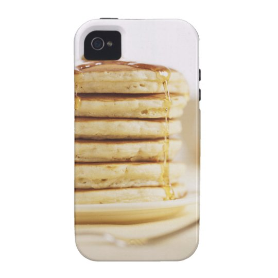 Pancakes and Melting Maple Syrup iPhone 4/4S Cover