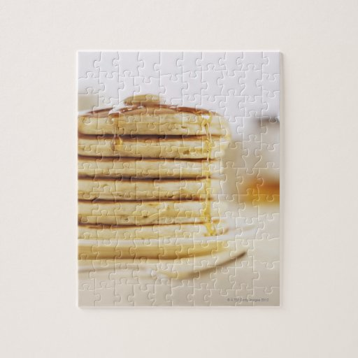 Pancakes and Melting Maple Syrup Jigsaw Puzzles