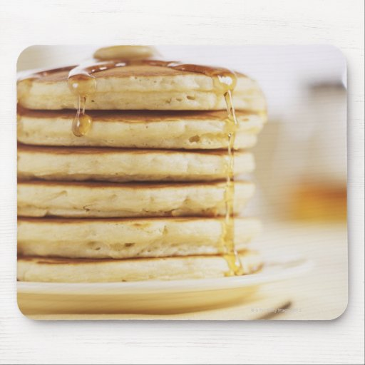 Pancakes and Melting Maple Syrup Mouse Pad