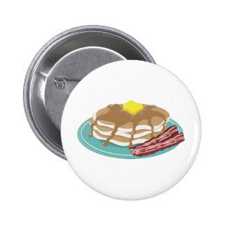 Pancakes Bacon Button
