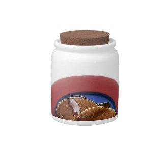 pancakes candy jar