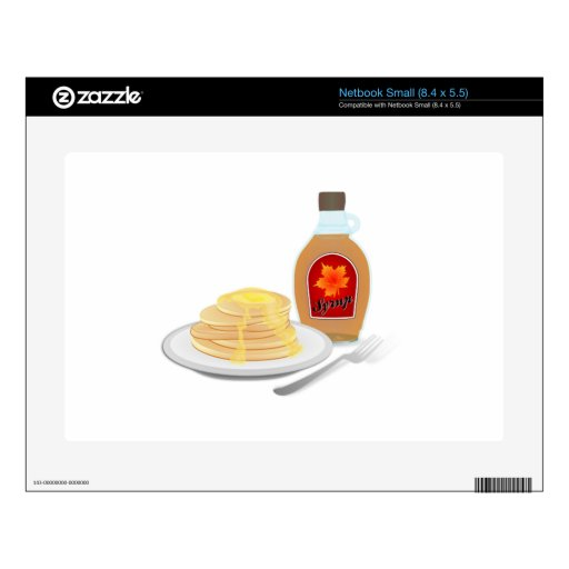 Pancakes Decal For Netbook