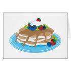 Pancakes Fruit Card