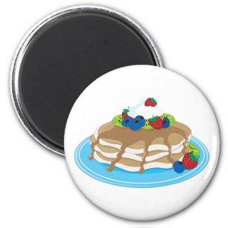 Pancakes Fruit Magnet