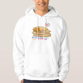 pancakes make me happy hoodie