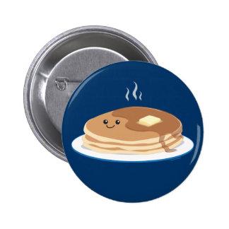 Pancakes Pinback Button