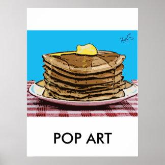 pancakes, POP ART Poster