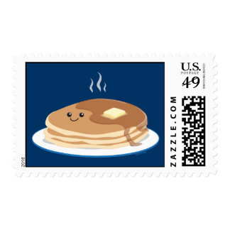 Pancakes Postage Stamps