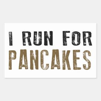 Pancakes Rectangular Sticker