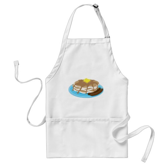 Pancakes Sausage Adult Apron