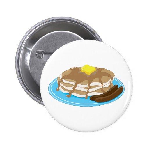 Pancakes Sausage Pin
