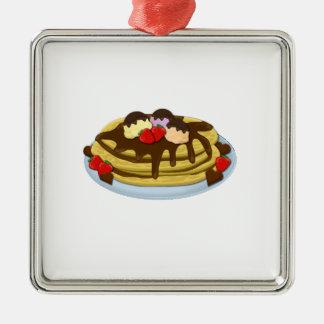 Pancakes - Shrove tuesday Metal Ornament