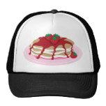 Pancakes Strawberry Trucker Hat