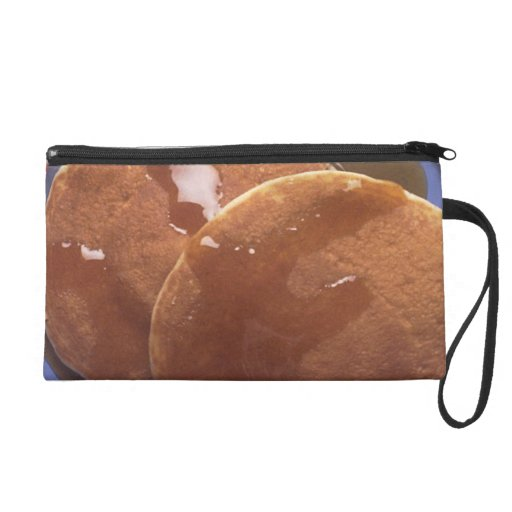 Pancakes with Maple Syrup Wristlet Clutches